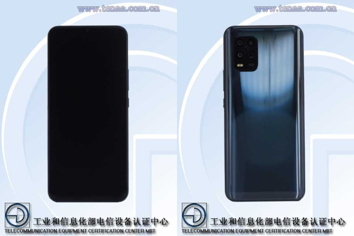 Xiaomi Mi 10 Youth Edition 5G (M2002J9E) spotted on TENAA