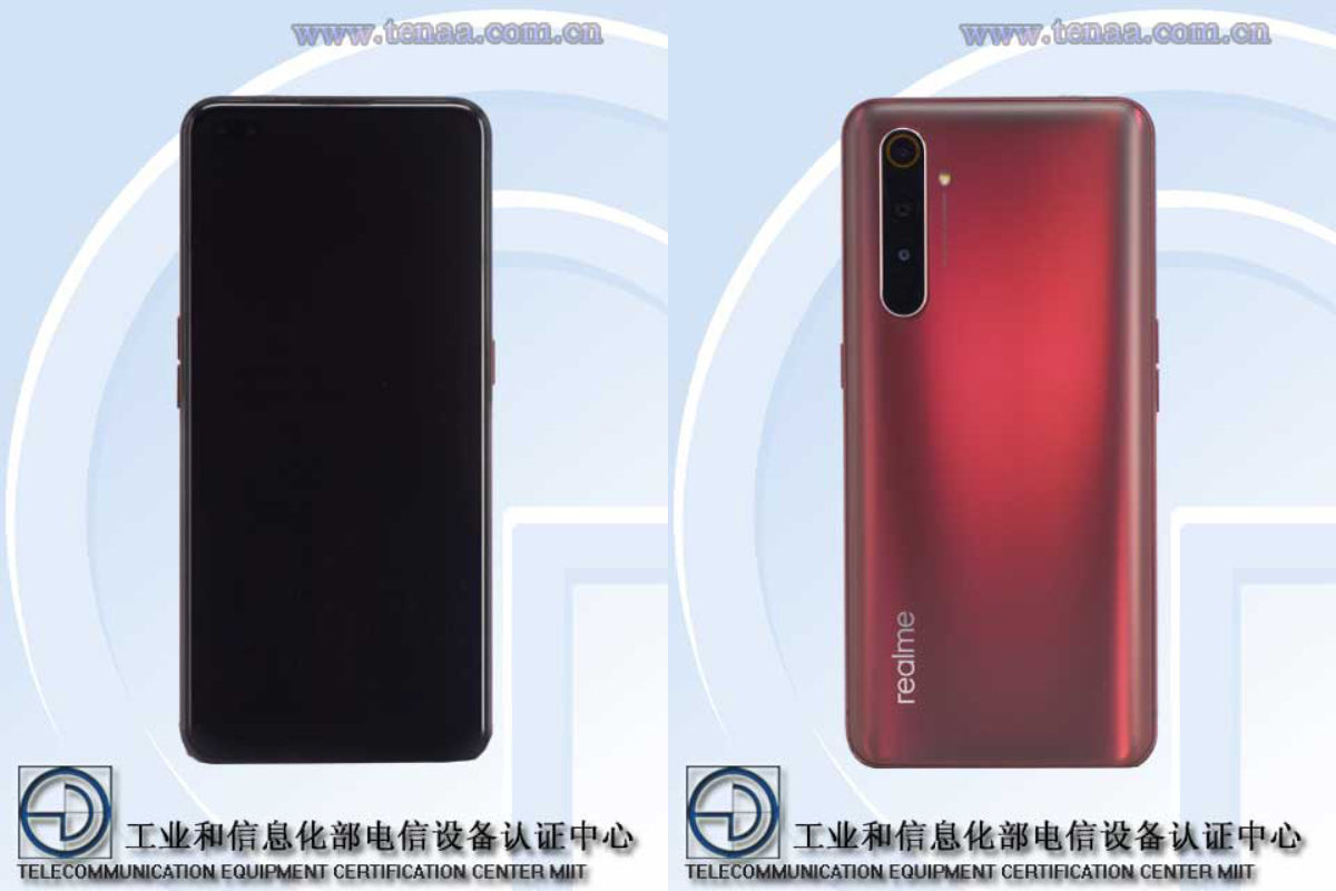 Realme X50 Pro Player Edition front and back design