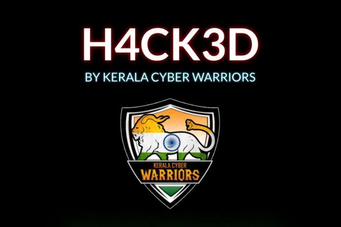 Maneka Gandhi Website Hacked