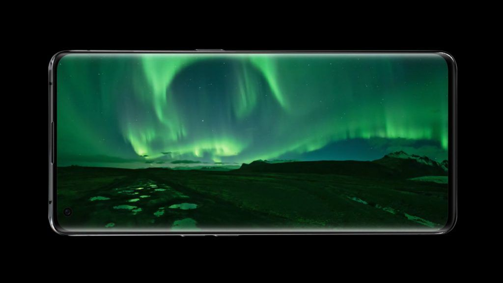 Oppo Find X2 display