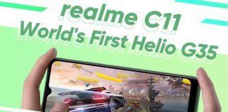 Realme C11 Header