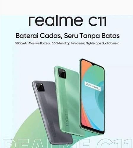 Realme C11 leaked poster