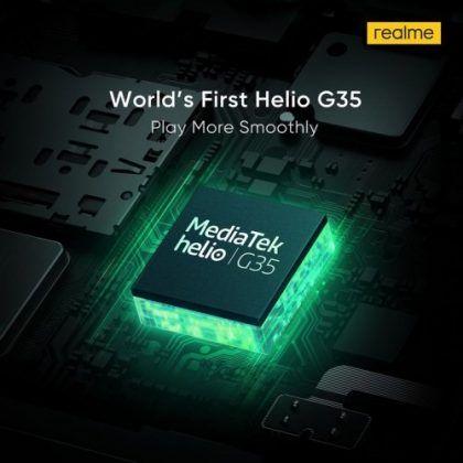 realme c11 processor