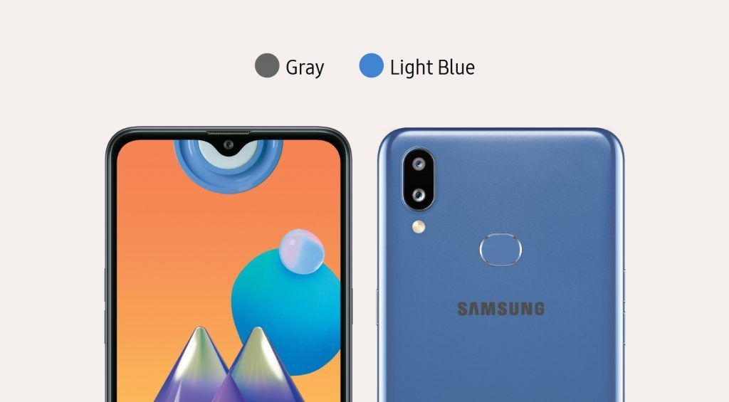 Galaxy M01 Color Options