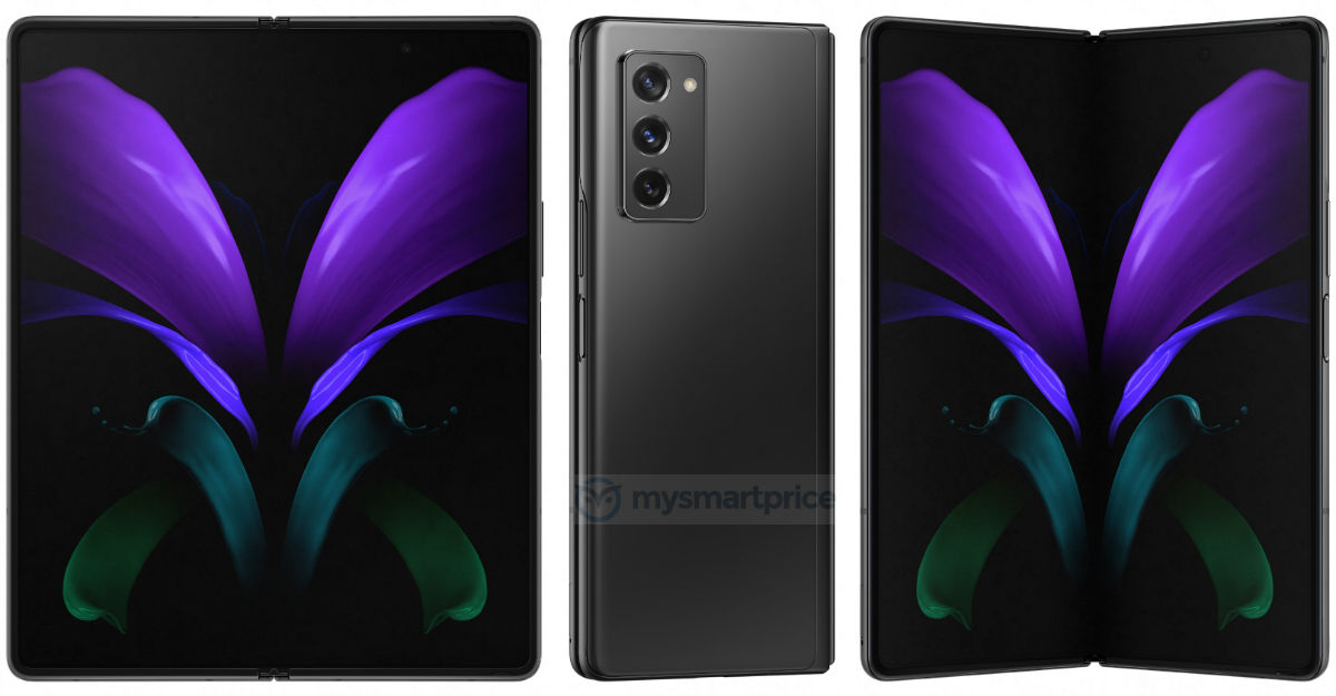 Samsung's new Galaxy Z Fold 2 5G leaks show camera, display upgrades