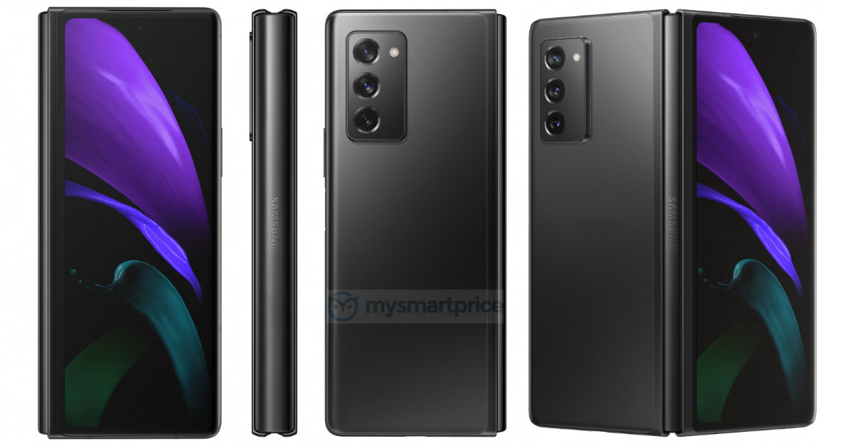 Samsung's new Galaxy Z Fold 2 5G leaks show camera, display upgrades
