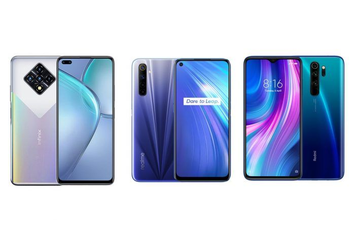 Infinix Zero 8 Vs Realme 6 Vs Redmi Note 8 Pro How Do These Three Helio G90t Powered Smartphones Compare Mysmartprice