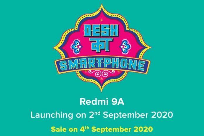 Redmi 9A India Launch