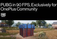 oneplus pubg 90fps