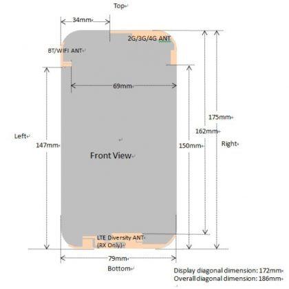 Infinix Note 8 Antenaa Diagram