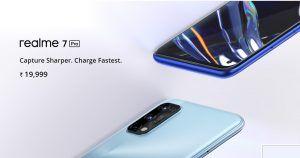Realme 7 india launch