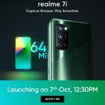 Realme 7i launch details