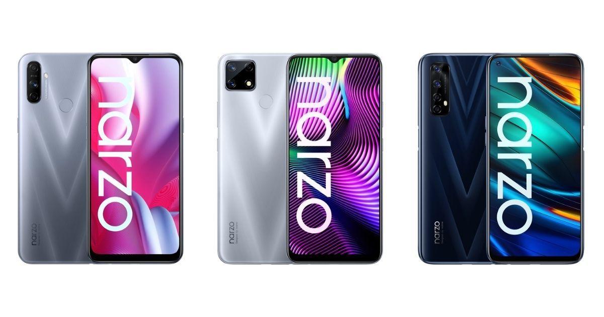 Realme Narzo 20 Series MySmartPrice - 5 Smartphone Rp1 Jutaan dengan Spesifikasi Fantastis