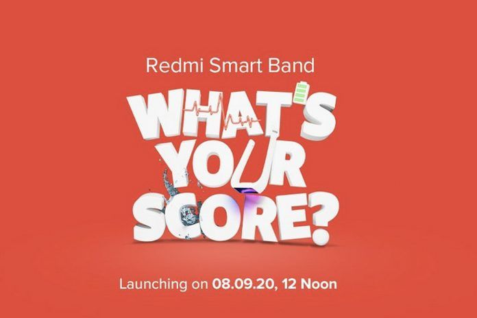 Redmi Smart Band launch in India