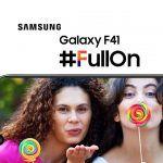 Samsung Galaxy F41 Header