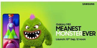 Samsung Galaxy M51 Header Teaser