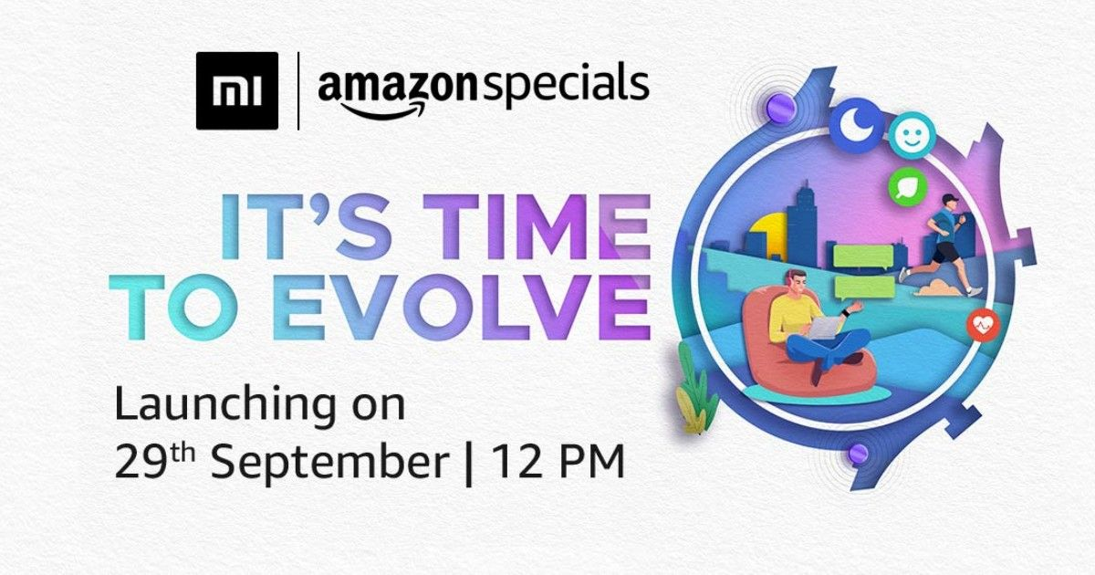 Xiaomi Mi Watch Evolve to Launch in India on September 29 via Amazon:  Features, Expected Price