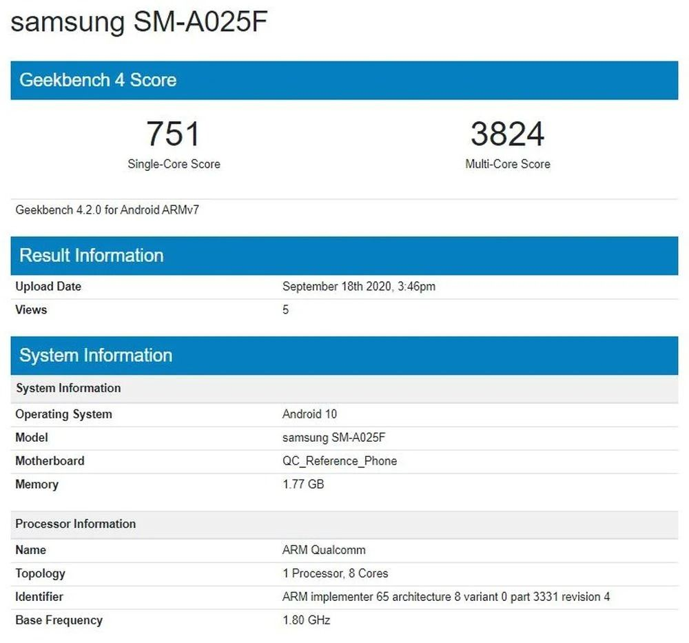Galaxy-A02-Geekbench