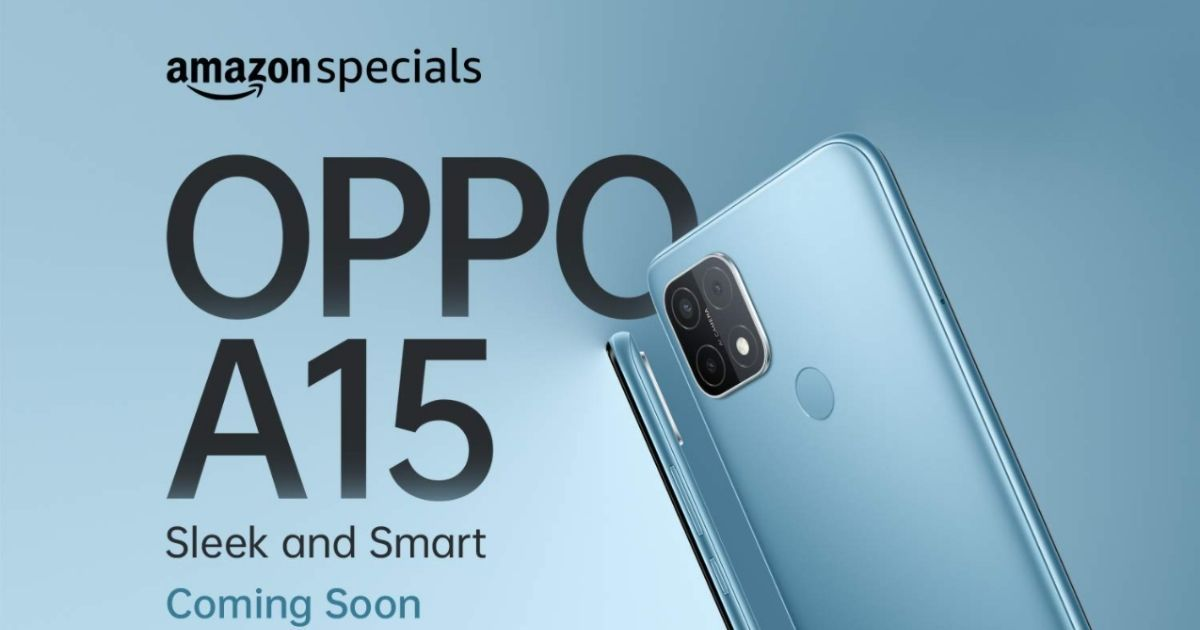 OPPO A15 listed on Amazon