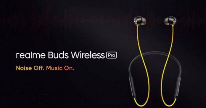 Realme Buds Wireless Pro launch