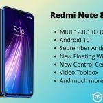 Redmi Note 8 MIUI 12