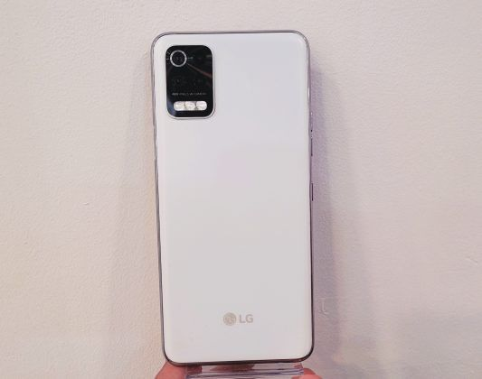 LG Q52 live images of rear panel leaked