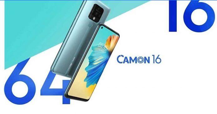 Tecno Camon 16 launch
