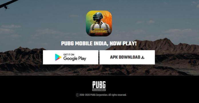PUBG Mobile India APK Download Link