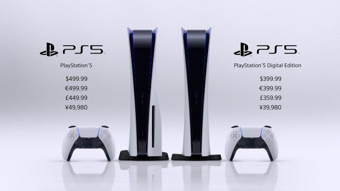Sony PS5 price