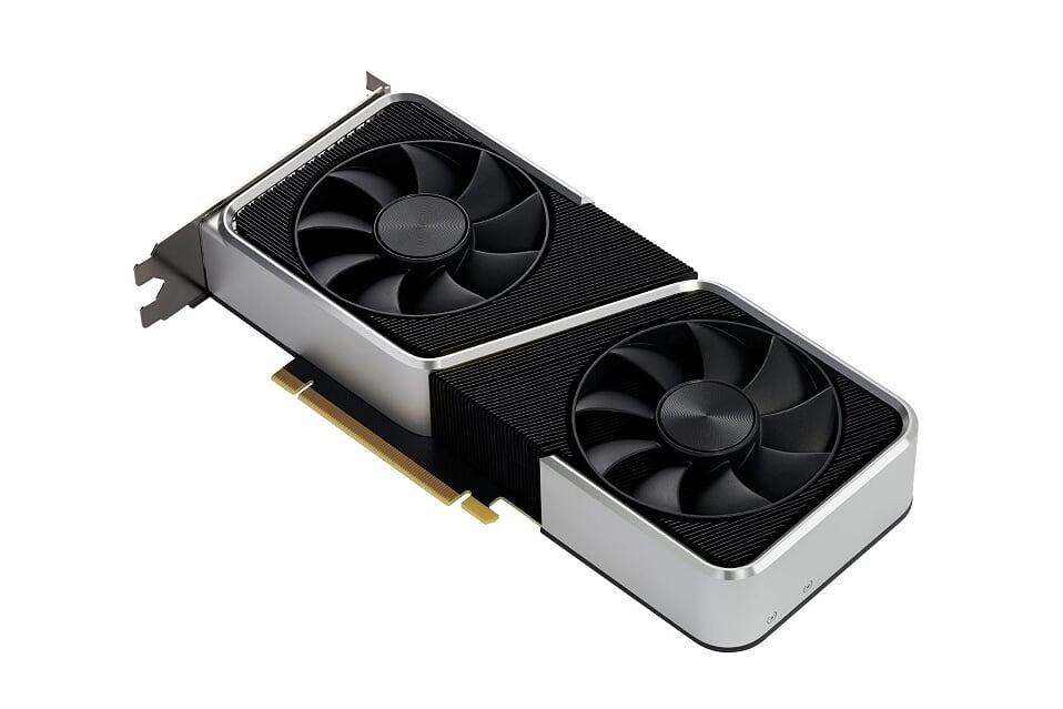 NVIDIA GeForce RTX 3060 Ti Left
