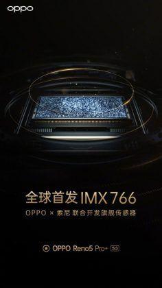 OPPO Reno5 Pro Plus promotional poster