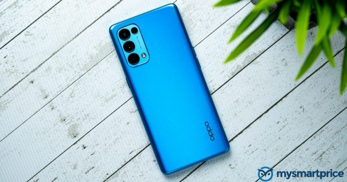 This is not the OPPO Reno 6. Image used for representation.