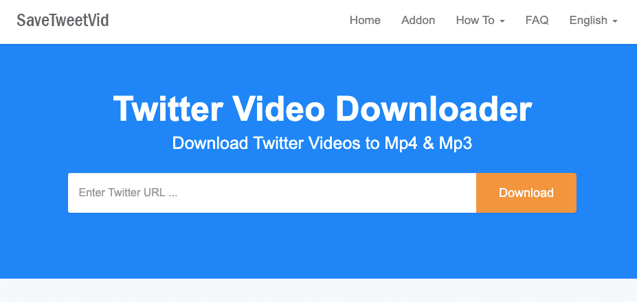 Download videos from Twitter