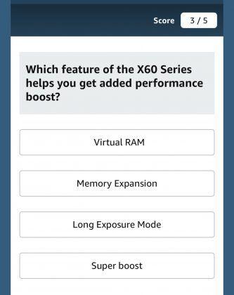 Vivo X60 Virtual RAM
