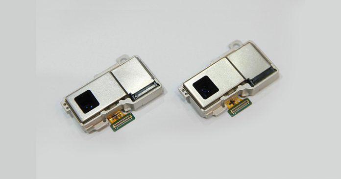 Samsung optical 10x zoom folded camera