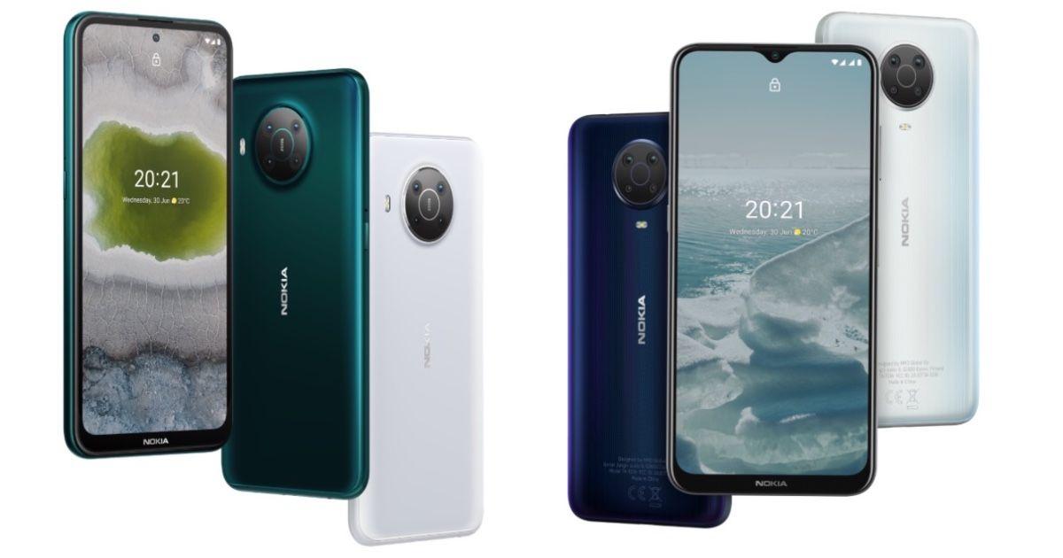 Nokia X10, Nokia X20, Nokia G20