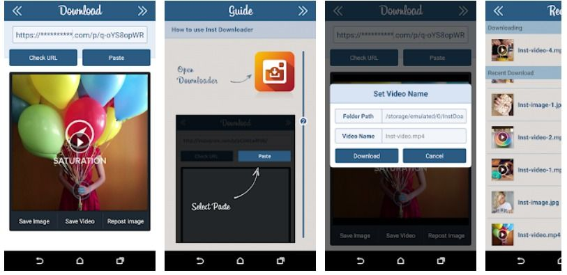 Instagram Downloader Android App