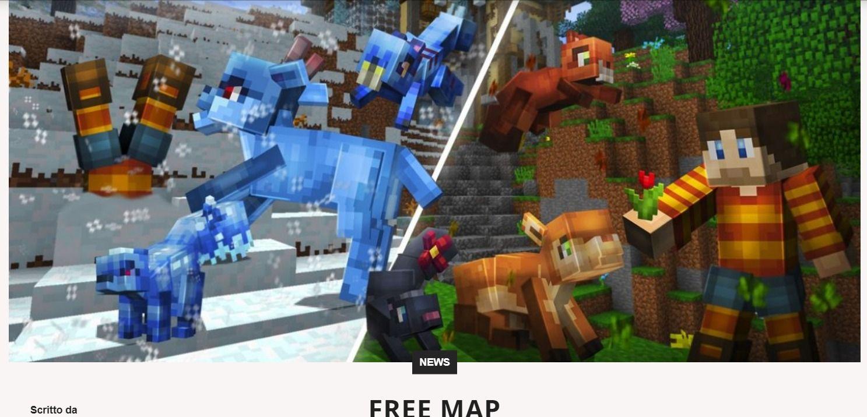 Minecraft नक्शा