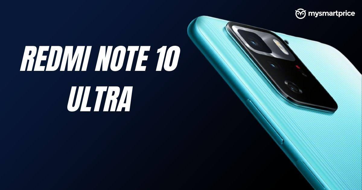 Redmi Note 10 Ultra