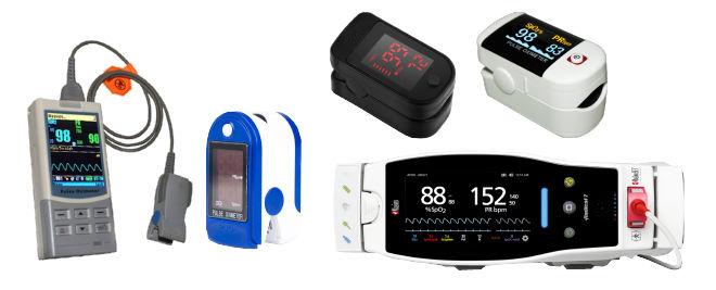 pulse oximeter types