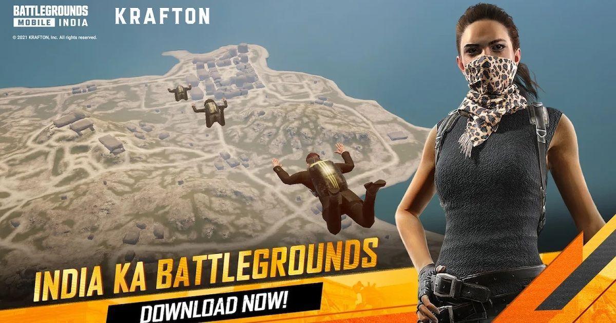 Battlegrounds Mobile India BGMI Cover Art