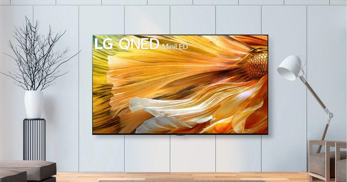 LG QNED mini LED TV launch