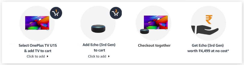 OnePlus TV U1S Offer