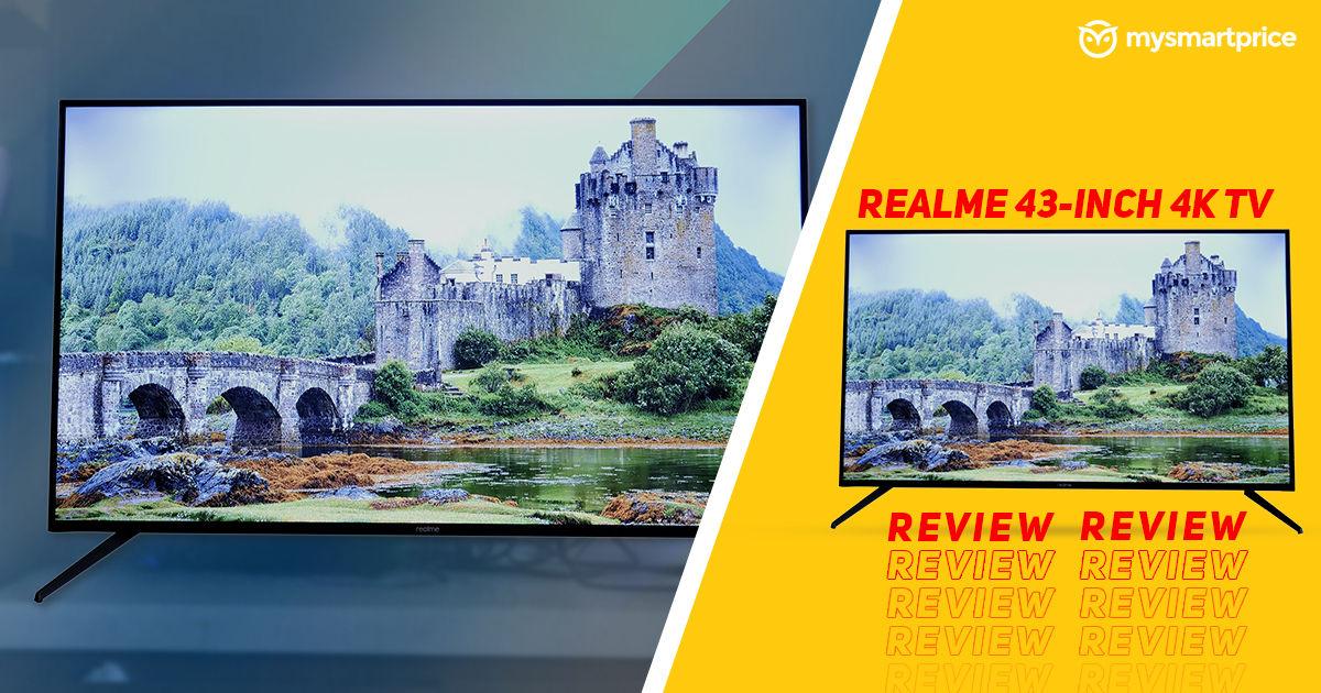 Realme 4K TV 43-inch