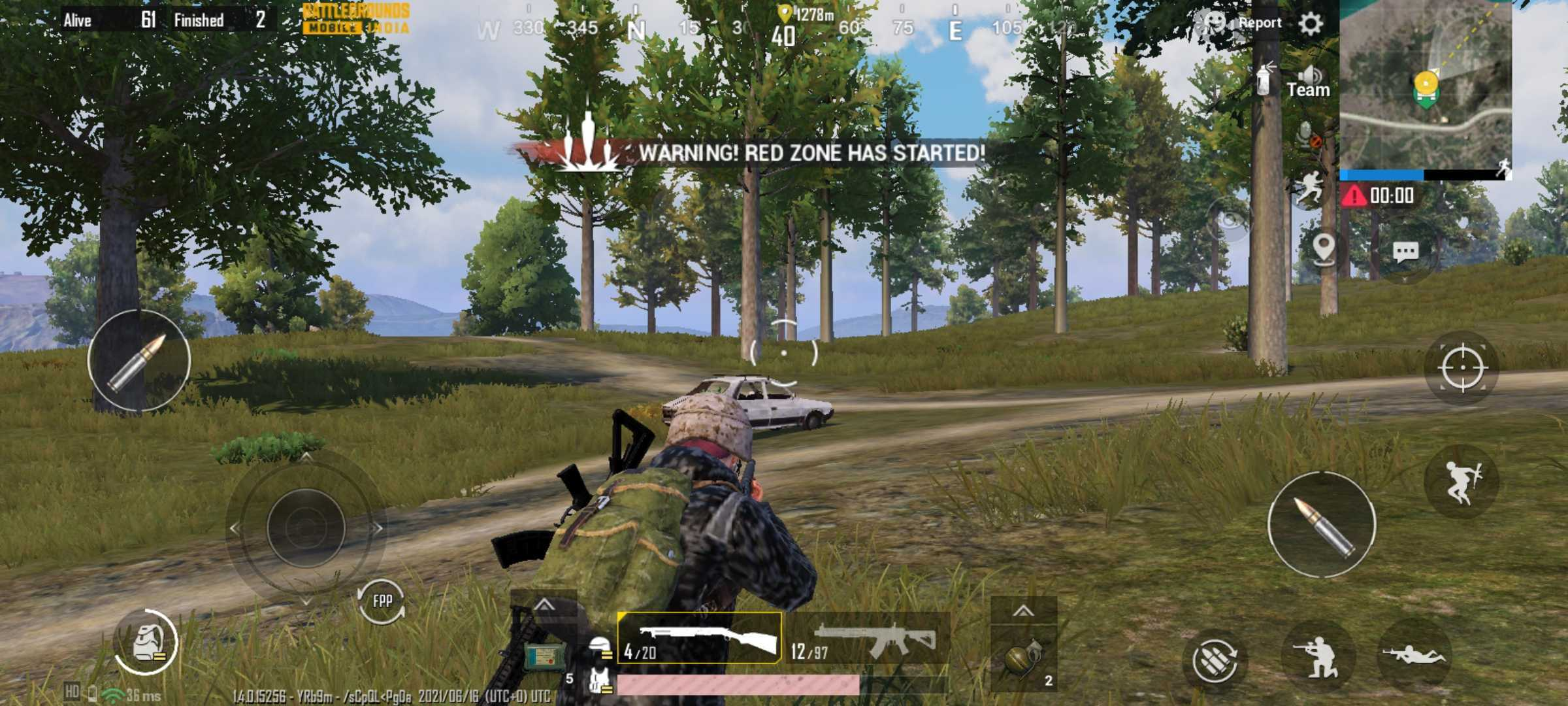 Battlegrounds Mobile India (BGMI) Screenshot