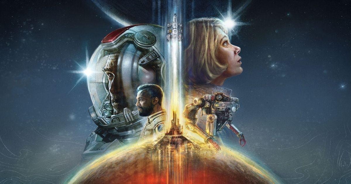 Starfield Xbox Cover