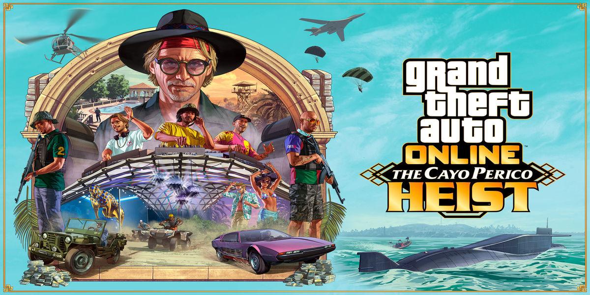 GTA Online Cover Art