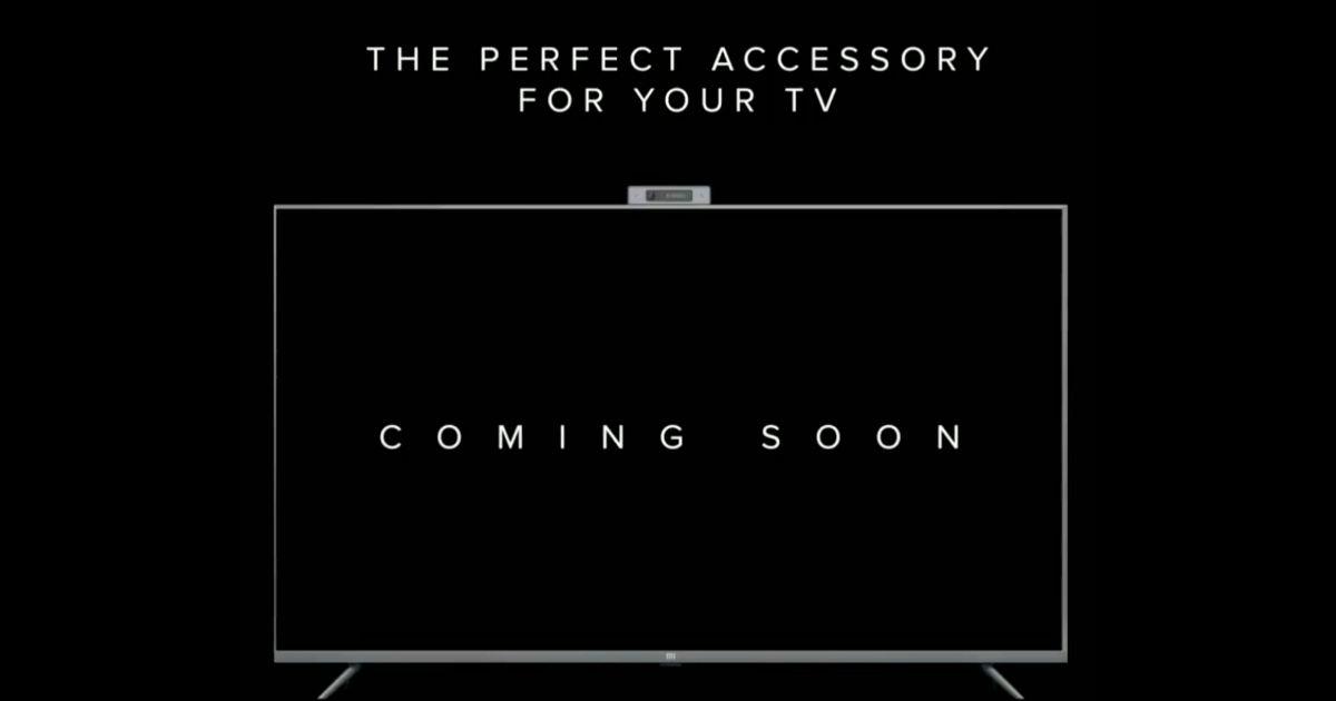 Xiaomi Mi TV camera