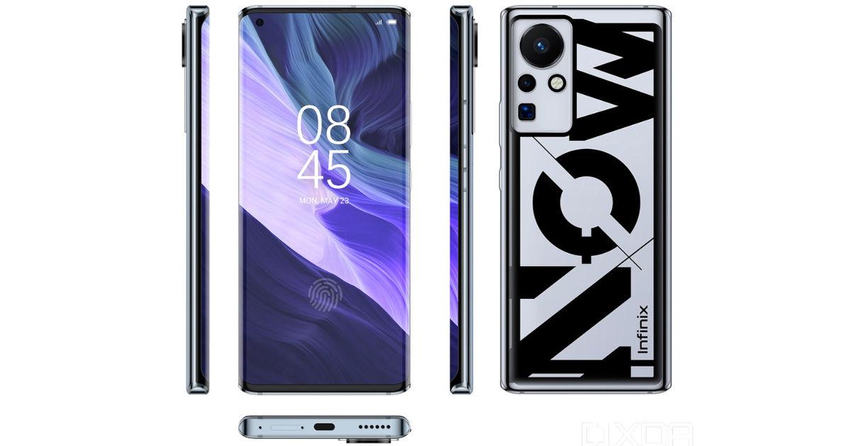 iNFINIX 160W smartphone