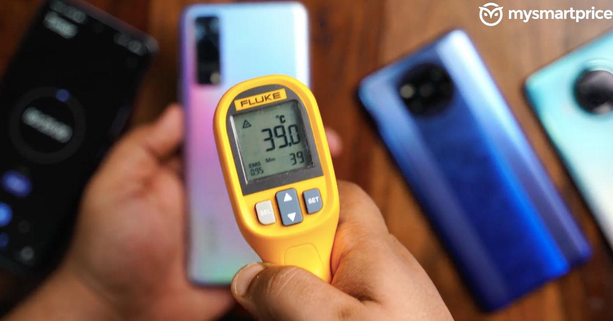 iQOO Z3 5G Heating test